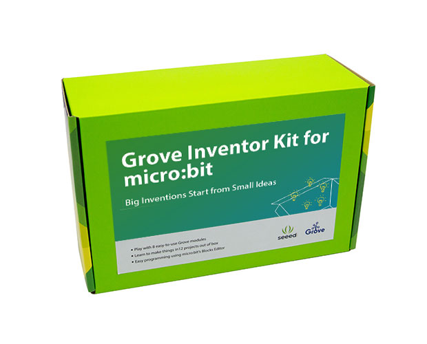 Grove Inventor Kit for micro:bit / マイクロビット用グローブインベンターキット