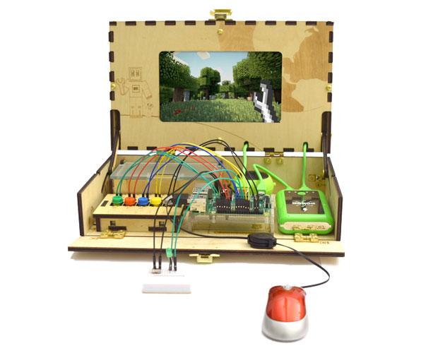 piper 人気ゲーム マインクラフト で電子工作を学ぶツールボックス piper