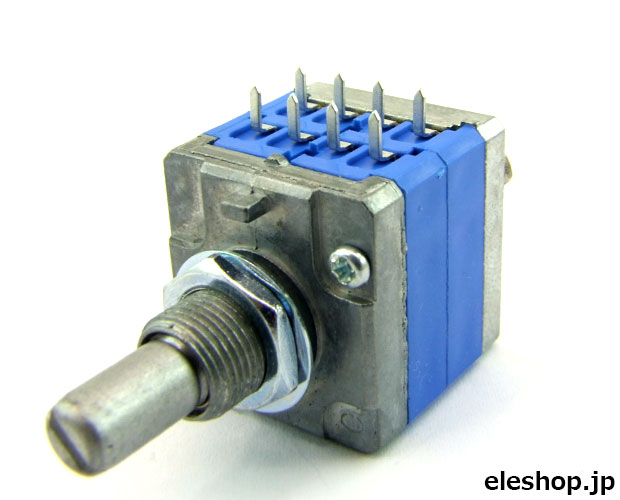 オーディオ用2連高級可変抵抗器 Aカーブ 10kΩ×2 / R2122G-RA1-A103