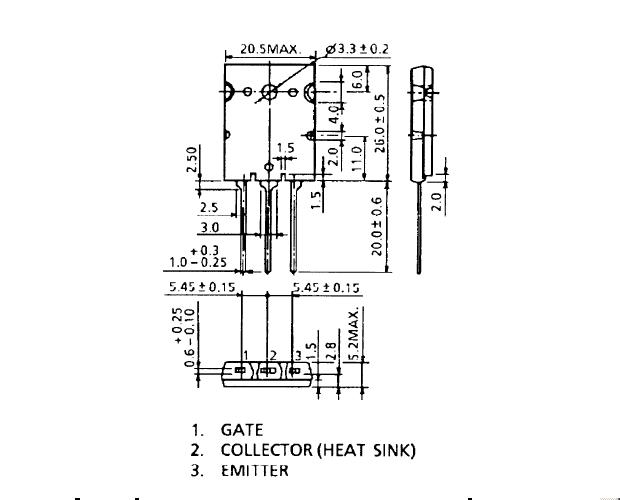 シリコンNチャンネルIGBT/GT40T301