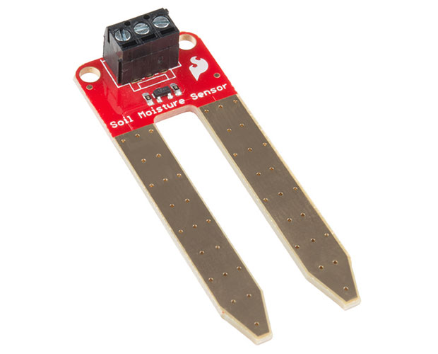 Soil Moisture Sensor (with Screw Terminals) 土壌水分センサー(ネジ端子付)