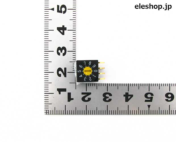 薄型ロータリコードスイッチ(10 ...