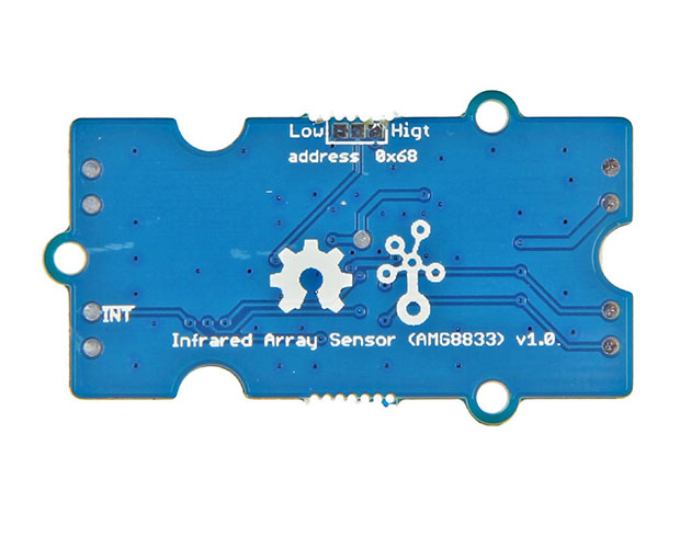 Grove - AMG8833 8x8 Infrared Thermal Temperature Sensor Array