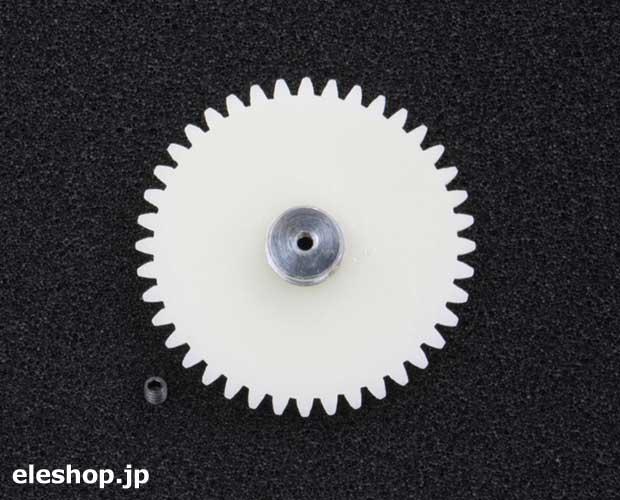 平ギヤ(モジュール1.0) 40歯x2mm / 91646