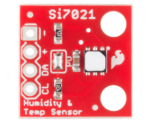 Si7021 Humidity and Temperature Sensor Breakout / 温湿度センサーブレイクアウト